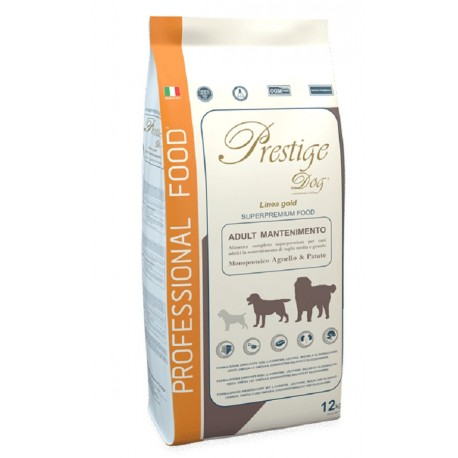 Prestige Dog Adult Mantenimento Agnello e Patate 12 Kg