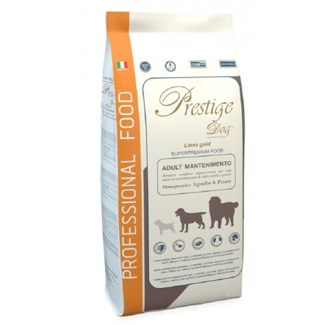 Prestige Dog Adult Mantenimento Agnello e Patate 2 Kg