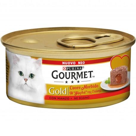 Gourmet Gold Cuore Morbido con Manzo 85 gr