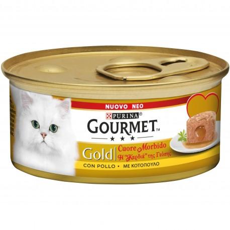Gourmet Gold Cuore Morbido con Pollo 85 gr