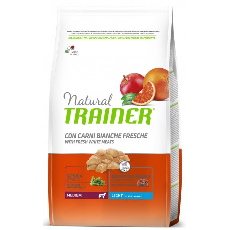 Trainer Natural Medium Light 12 Kg Crocchette per Cani