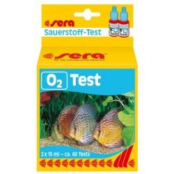 Sera Test O2 - 60 misurazioni ossigeno per acquario dolce e laghetto
