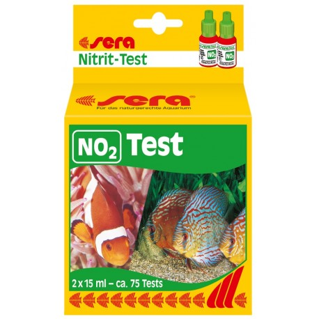 Sera NO2 test nitriti acquario 75test