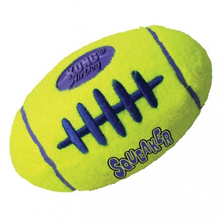 Kong Air Dog Squeaker Football Small ASFB3