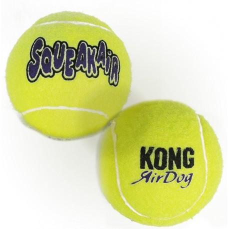 Kong Air Dog Squeakair Balls Large AST1E Gioco Due Palle per Cani