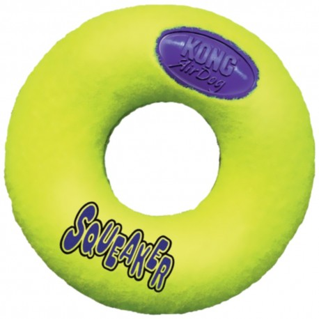 Kong Air Dog Squeaker Donut ASD2 Ciambella Media per Cane