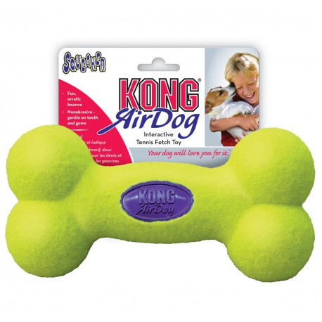 Kong Air Dog Squeaker Bone Small ASB3 Gioco per Cane