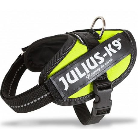 Julius K9 Pettorina Taglia 0 Green per Cane fino a 25 kg