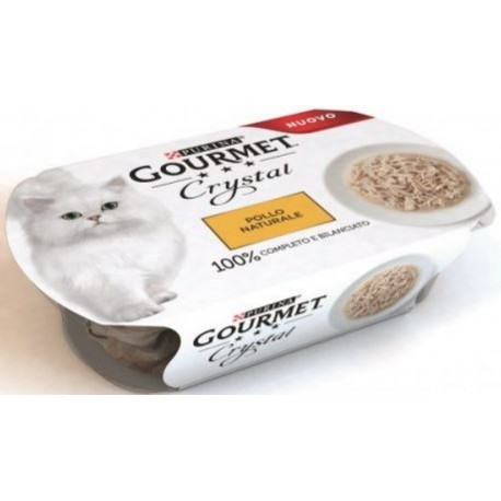 Gourmet Crystal Pollo Naturale 50 gr