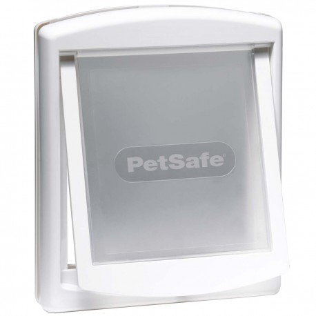 Petsafe Staywell 740 Porta Basculante Bianca per Cane max 18 Kg