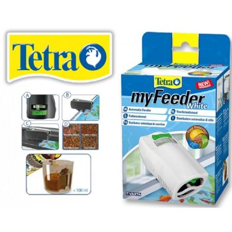 Tetra My Feeder White Mangiatoia Automatica per Pesci Acquario