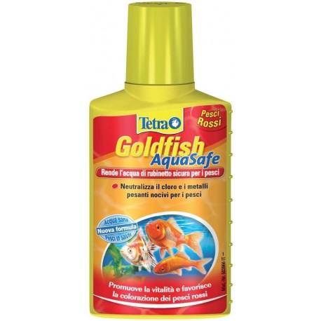 Tetra AquaSafe Goldfish 250 ml Biocondizionatore per Pesci Rossi