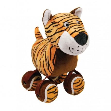 Kong Tennishoes Tiger Small RTS33 Gioco Tigre per Cane