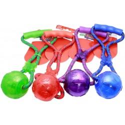 Kong Squeezz Rope Ball PSP21 Gioco Tira e Molla per Cane