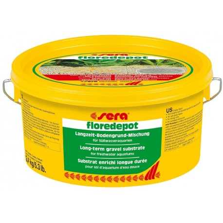 Sera Floredepot 2,4 Kg Substrato per Piante Acquario