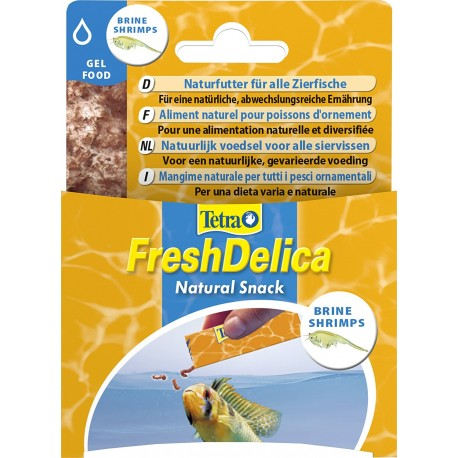 Tetra Fresh Delica Artemia 48 grammi Mangime in Gelatina per Pesci