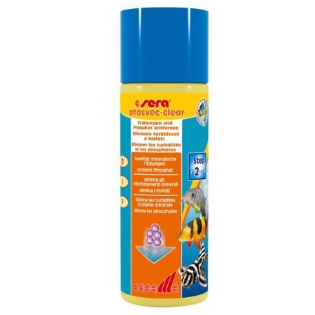 SERA Phosvec clear 250 ml per Acquario