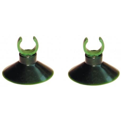 Ventose 12mm 2pz per fissaggio tubi Acquario filtro