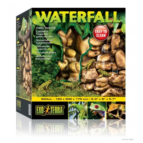 Exo Terra Pepple Waterfall Small Cascata per Terrario PT2910