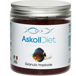 Askoll Diet Granulo Tropicale 250ml 125 gr Alimento per Pesci