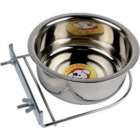 Ciotola acciaio con supporto per cane diametro 19cm - CIN107D