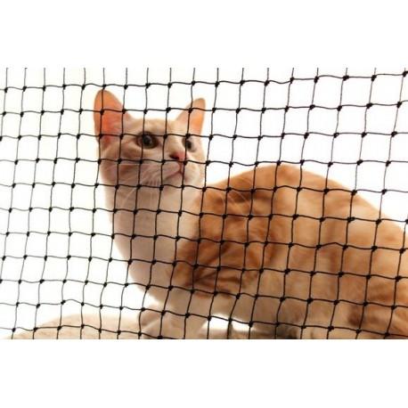 Trixie Rete di sicurezza per Balconi per Gatti 4 x 3 mt Colore Nero ART.44321
