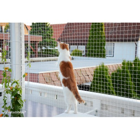 Trixie Rete di Protezione Trasparente per Balconi per Gatti 2 x 1,5 mt ART.44303