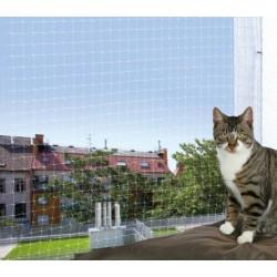 Trixie Rete di Protezione Trasparente per Balconi per Gatti 4 x 3 mt ART.44323