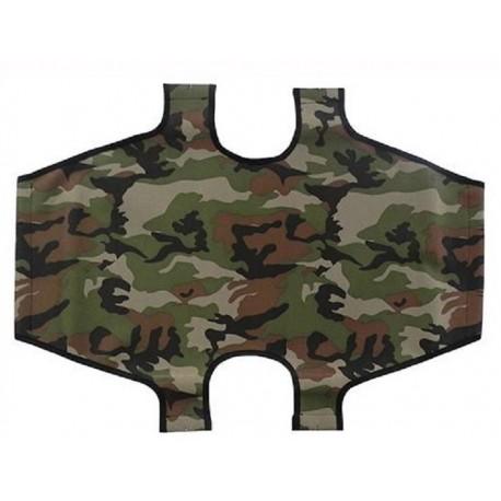 Leopet Telo di ricambio militare per brandina pieghevole per cani cm 100 x 60