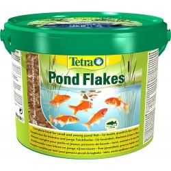 Tetra Pond Flakes 10 Lt 1,8 Kg Fiocchi per Pesci da Laghetto