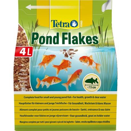 Tetra Pond Flakes 4 Lt 800 gr Fiocchi per Pesci da Laghetto