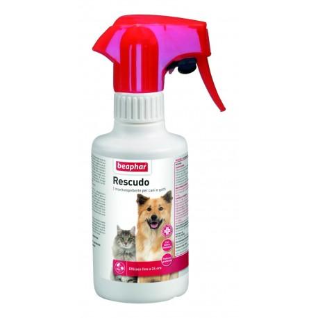 Beaphar Rescudo Spray Insettorepellente per Cani e Gatti 250 ml