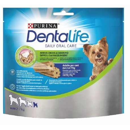 Purina Dentalife Mini 21 Stick 207gr Snack per Cane