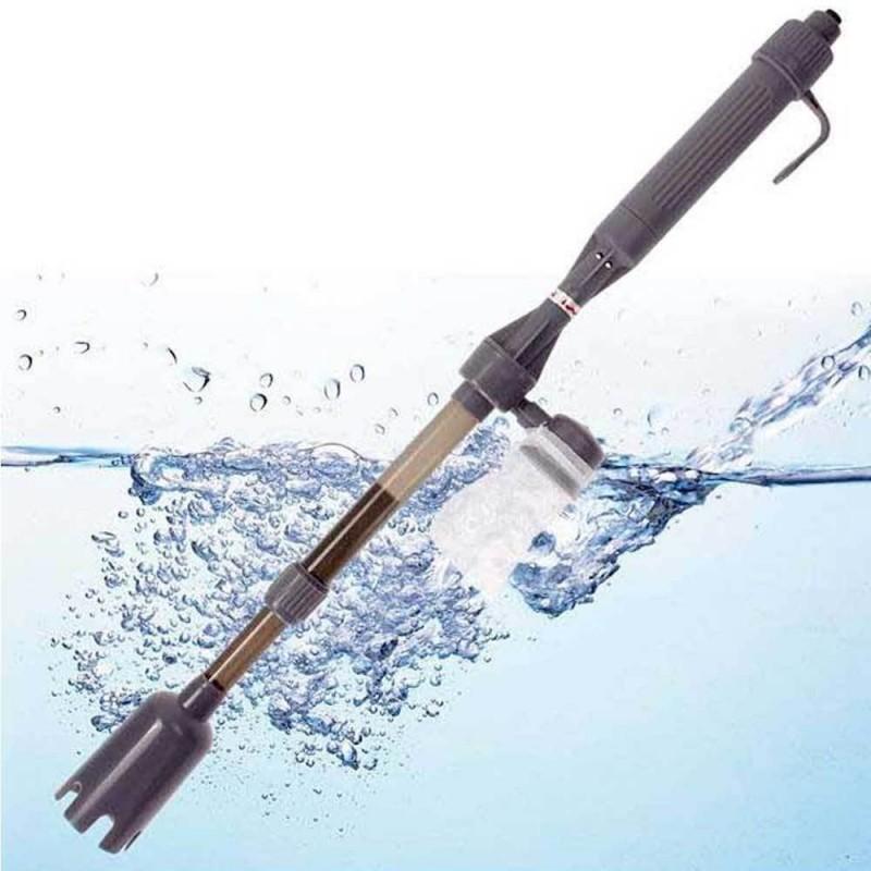 Wave handy aspirarifiuti a batterie per acquario for Pulizia fondo laghetto