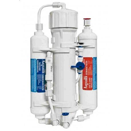 Aquili impianto Osmosi inversa con Flushing Valve
