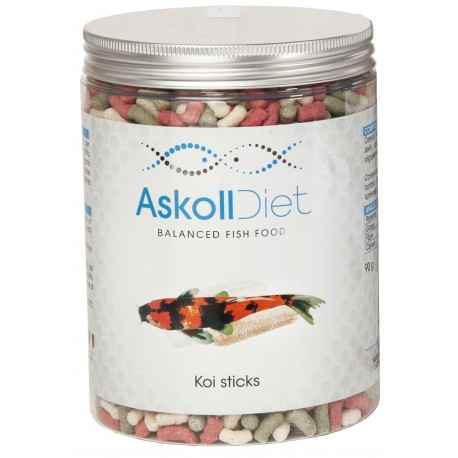 Askoll Diet Koi Sticks 1000ml 90 gr Mangime per Pesci Laghetto