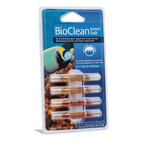 Prodibio Bioclean Salt Nano 4 fiale Detergente naturale per Acquario Marino