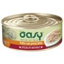 Oasy Wet Cat Specialità al Naturale Pollo con Prosciutto 70 gr