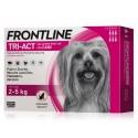 Frontline Tri Act 2-5 Kg Antiparassitario per Cani 6 fiale