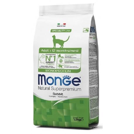 Monge Gatto Adult Monoproteico al Coniglio 1,5 Kg