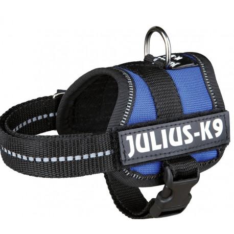 Julius K9 Pettorina Taglia 0 Blu per Cane fino a 25 Kg