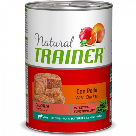 Trainer Natural Maturity Medium Maxi ex Senior con Pollo Umido per Cane gr 400
