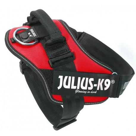 Julius K9 Pettorina Taglia 1 Rossa per Cane fino a 30 kg