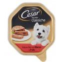 Cesar Ricette Classiche Patè con Manzo e Pollo Cibo per Cane