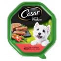 Cesar Cuore di Verdure Patè con Manzo e Verdure Cibo per Cane