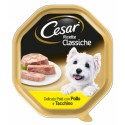 Cesar Ricette Classiche Patè con Pollo e Tacchino Cibo per Cane
