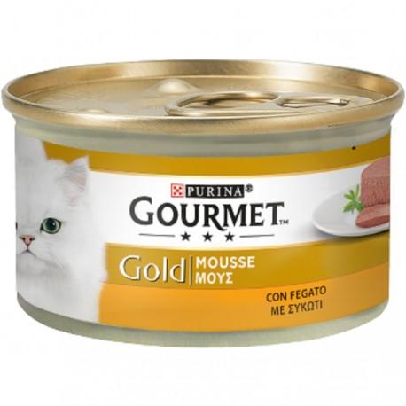 Gourmet Gold Mousse con Fegato 85 gr