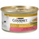Gourmet Gold Dadini con Trota e Verdure Cibo per Gatti