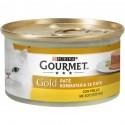 Gourmet Gold Patè con Pollo Cibo in Scatoletta per Gatti