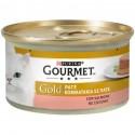 Gourmet Gold Patè con Salmone Cibo in Scatoletta per Gatti